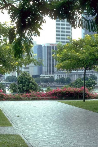 Marina Square: Terrace View